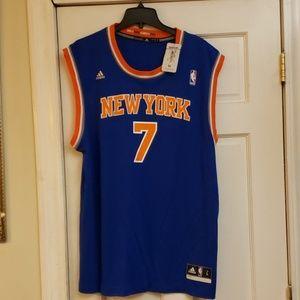Adidas Knicks Carmelo Anthony Jersey Size Large